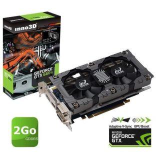 GTX 660 Ti 2Go GDDR5   Achat / Vente CARTE GRAPHIQUE Inno3D GTX 660