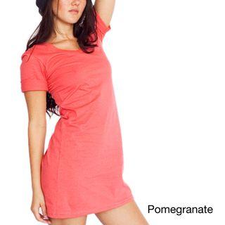 American Apparel Womens Organic Jersey T shirt Dress