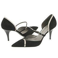 Via Spiga Luna Black Suede