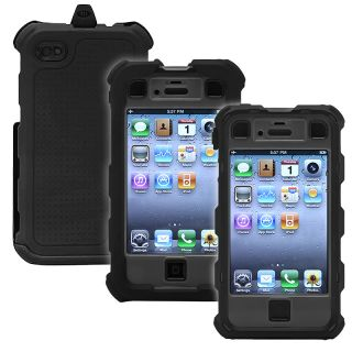 Ballistic Apple iPhone 4/ 4S Black/ Grey Hard Core Case HA0778 M315