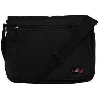 Angels Black Peace and Stars Double sided Messenger Bag