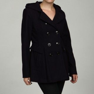 Miss Sixty Womens Purple Double breasted Coat FINAL SALE