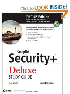 CompTIA Security+ Deluxe Study Guide SY0 201 Emmett Dulaney