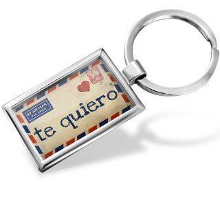 Keychain I Love You Spanish Love Letter from Spain