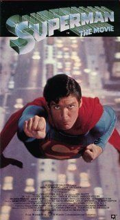 Superman The Movie [VHS] Christopher Reeve, Margot Kidder