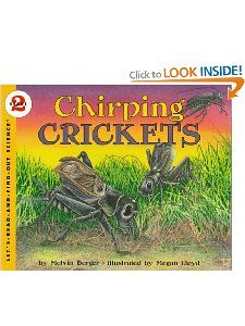 Chirping Crickets (Lets Read and Find Out Science, Stage 2): Melvin