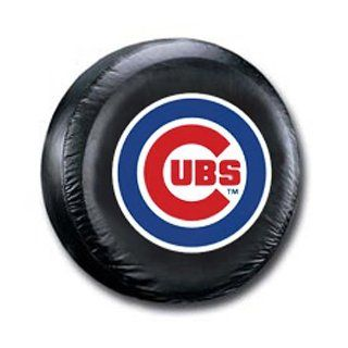 BSS   Chicago Cubs MLB Spare Tire Cover (Large) (Black