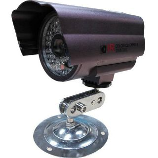 CCTV Gun CCD 130  foot Outdoor/ Indoor Night Vision LED Camera