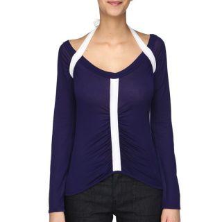 DIESEL T Shirt Punzyt Femme Violet et blanc   Achat / Vente T SHIRT
