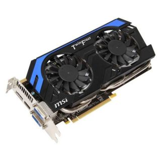 MSI GeForce GTX 660 Ti   N660Ti PE 2GD5/OC   2 Go   Conçue pour les