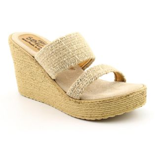 Sbicca Womens Vibe Fabric Sandals