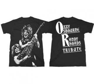 Ozzy Osbourne   Randy Rhoads Tribute T Shirt Clothing
