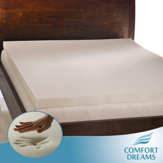 Comfort Dreams Ultra Soft 3 inch Queen/ King size Memory Foam Mattress