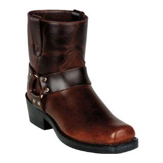 Bates Mens Big Bend Motorcycle Boot Shoes