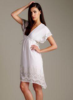 Romeo & Juliet Couture Dolman Sleeve V Neck Dress