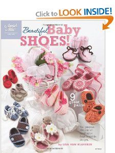 Beautiful Baby Shoes (Annies Attic) Lisa van Klaveren 9781596353107