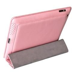 Mivizu Sense Apple iPad 2 Pink Leather Case