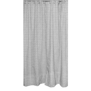 Erin Charcoal Designer Shower Curtain Today: $135.99