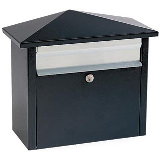 Black Wall  or Post mount Mail House Mailbox Today $82.99 3.8 (5