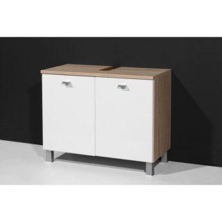 VERENA meuble sous lavabo marron 70 cm   Achat / Vente MEUBLE SOUS