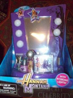 Disney Hannah Montana Light up Vanity with Real Make up