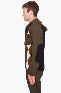 Junya Watanabe Hooded Sweater for men