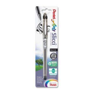 Pentel Arts Slicci 0.25 mm Extra Fine Gel Pen, Black Ink