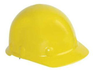 FIBRE METAL SE202A000 Hard Hat, Front Brim, G, Ratchet, Yellow