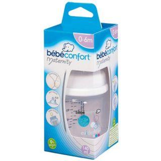 BEBE CONFORT Biberon Maternity 140ml+tétine T1 Blanc   Achat / Vente