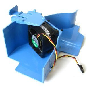 Genuine DELL Memory Hard Drive Blower Cooling Fan and Shroud for