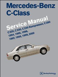 Mercedes Benz C Class (W202) Service Manual 1994, 1995, 1996, 1997