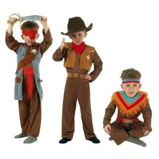 DEGUISEMENT   PANOPLIE César Costume 3 en 1 garçon Cow Boy/Indien