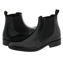 Taryn Rose Cason Black Picasso Boots (Size 13.5)