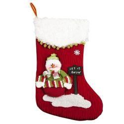 Red/ White Christmas Stocking