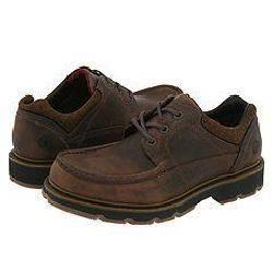 Dr. Martens Luke Moc Toe Shoe Dark Brown