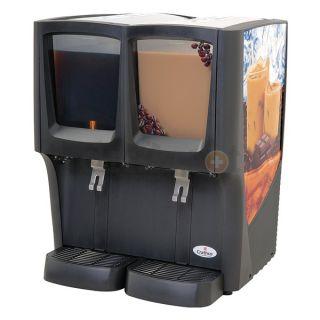 Crathco C 2D 16 Double Cold Beverage Dispenser, Premix, 2 Bowls
