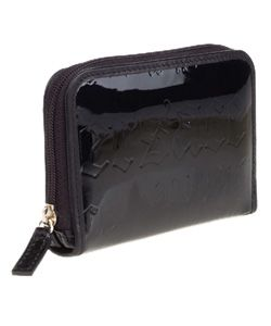 Versace Logo Embossed Patent Leather Coin Purse