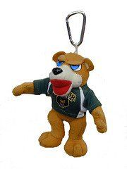 Baylor Bears Mascot Key Chain/Backpack Clip Sports