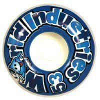 World Industries Wet Willy Logo 53mm Wheels: Sports