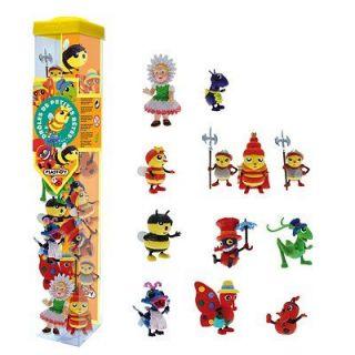 Drôles de petites bêtes   Tubo de 12 figurines   Achat / Vente
