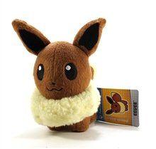 Pokemon Center 6 Plush Poke Doll Eevee Toys & Games