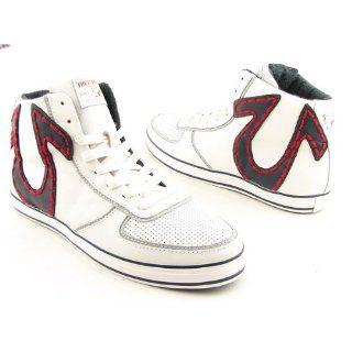 True Religion Mens Ace Hi Top Fashion Sneaker: Shoes