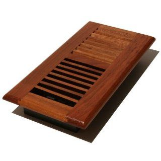 Decor Grates WLC214 N 2 Inch by 14 Inch Wood Floor Register, Natural