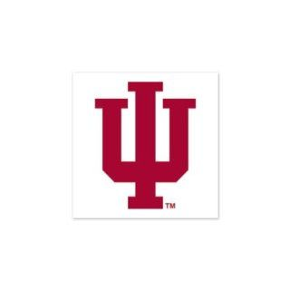 INDIANA HOOSIERS OFFICIAL LOGO TATTOOS: Sports & Outdoors