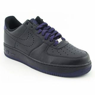 Nike Mens Air Force 1 07 Black/Ink Sneakers (Size 13)