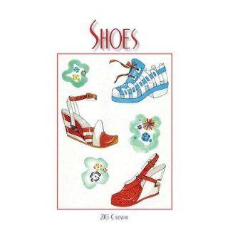 (6x6) Shoes   2013 Easel/Desk Calendar