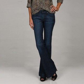 James Jeans Womens Humphrey 4 pocket Flare Denim Jeans