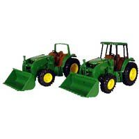 John Deere 11 Inch Tractor with Loader: Toys & Games