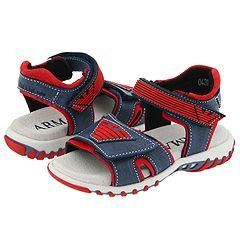 Armani Junior California Sandalo Tecnico Ricamo (Infant/Toddler) Navy