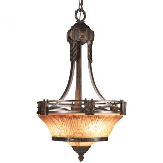 Woodbridge Lighting Sebastian 3 light Tuscan Bronze Pendant